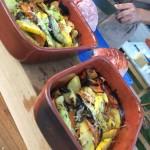 groentenschotel houtoven