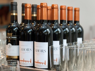 selectie rode wijn